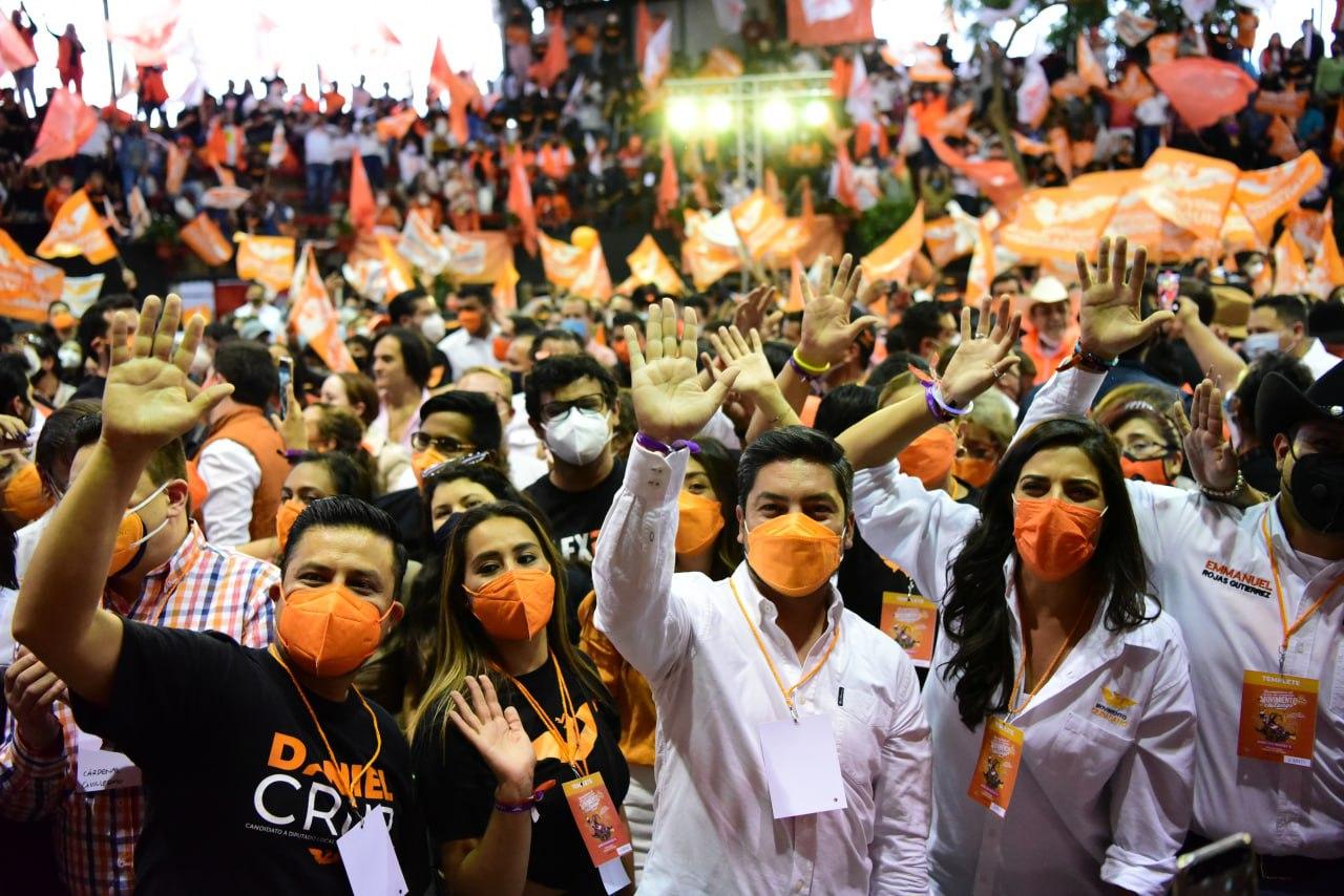Cierra campaña Movimiento Ciudadano con esperanza  de cambio para la CDMX y el país