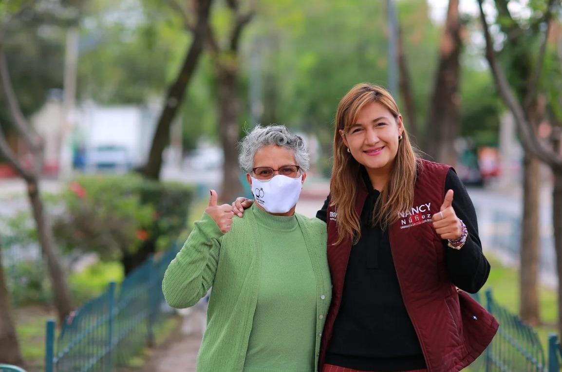 Entrevista a Nancy Núñez orgullosa chintolola, al congreso de la CDMX