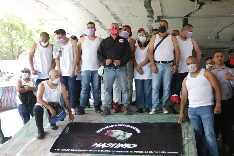 "RSP presenta a ""Mastines"" grupo de autodefensa electoral"