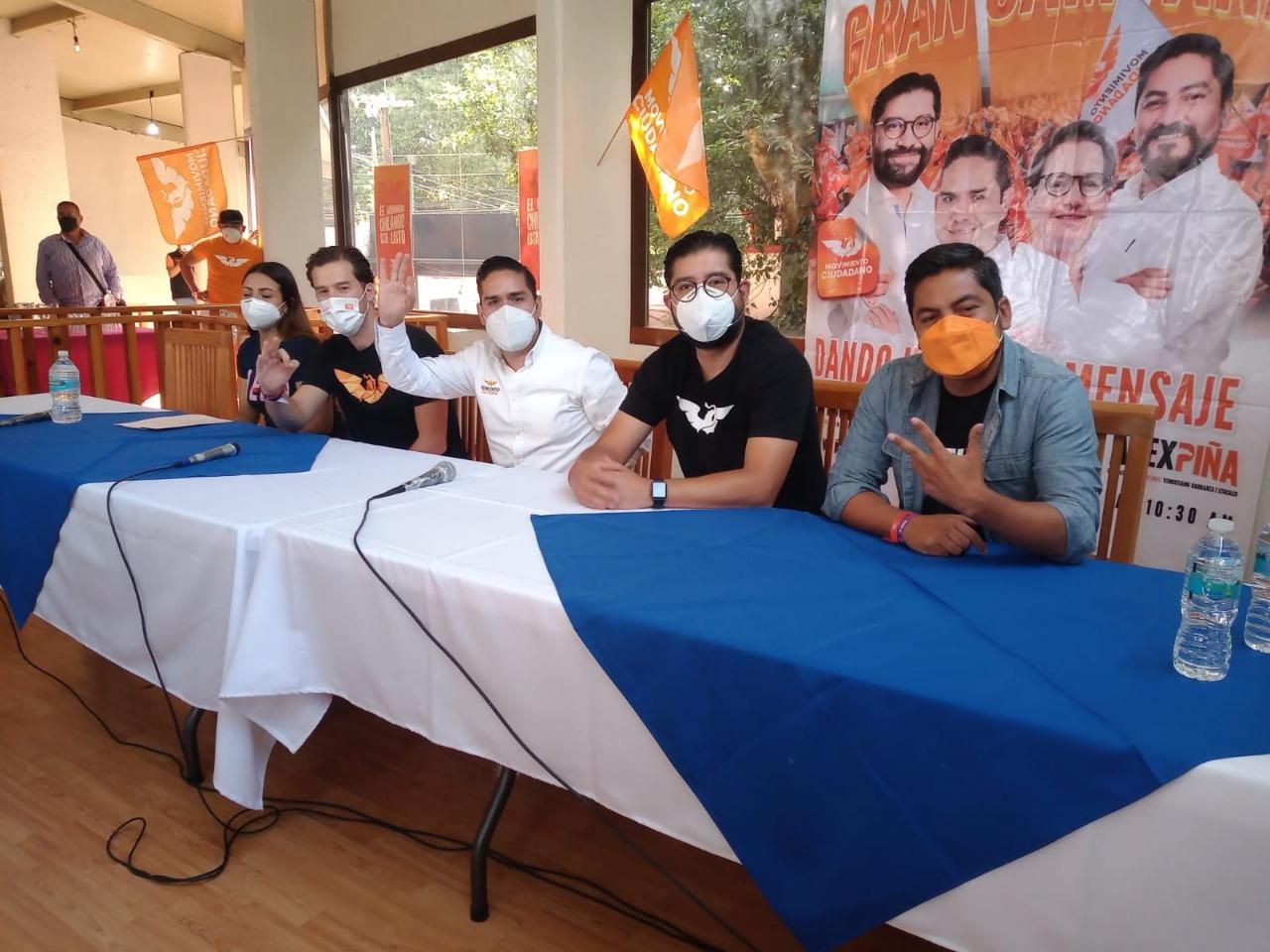 Se suman militantes panistas al Movimiento Chilango en Cuajimalpa y Álvaro Obregón