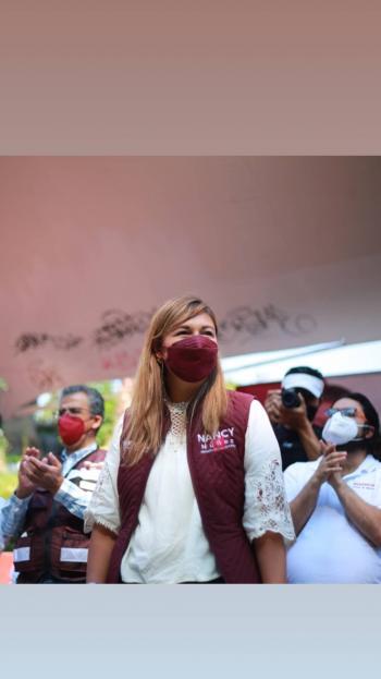 Convoca Nancy Núñez a los capitalinos a votar el 6 de junio por los candidatos de Morena