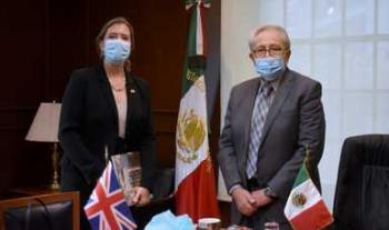 Revisan Secretaría de Salud y Reino Unido avances en áreas de cooperación bilateral