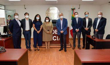 Con el Nuevo Modelo Laboral, en San Luis Potosí, alrededor del 85% de los conflictos laborales son resueltos a través de la conciliación