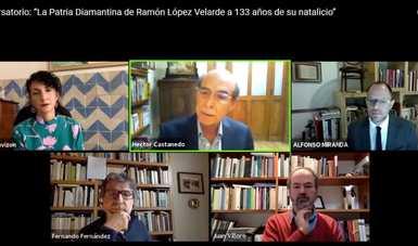 Abordan en conversatorio la obra inabarcable de Ramón López Velarde
