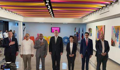 Marcelo Ebrard encabeza inauguración de nueva sede del Consulado de México en Houston