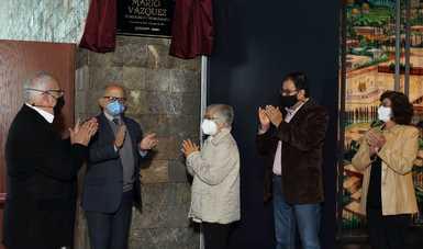 A un año de su fallecimiento, INAH rinde homenaje al museógrafo Mario Vázquez