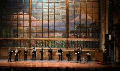 Solistas Ensamble interpretó música sacra y secular de Josquin des Prez en el Palacio de Bellas Artes