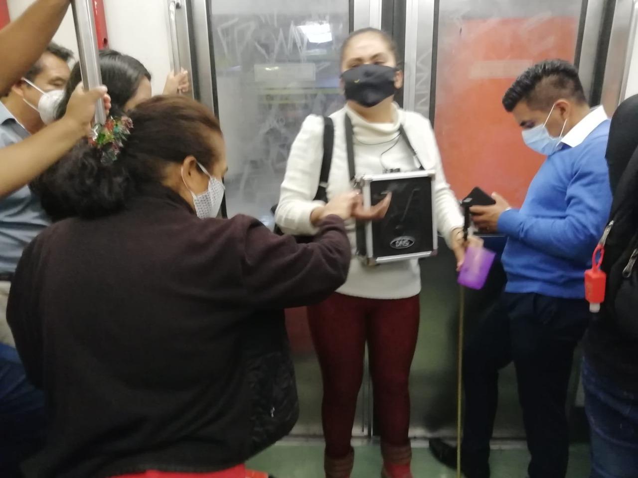 Historias en el metro - Martha Isabel