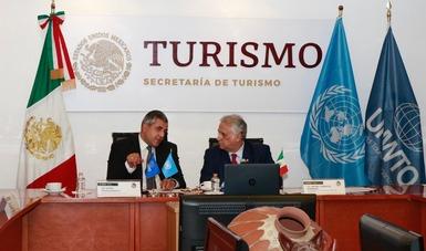 Participa Zurab Pololikashvili en la Cuarta Reunión Extraordinaria de la Comisión Interamericana de Turismo (CITUR) de la OEA