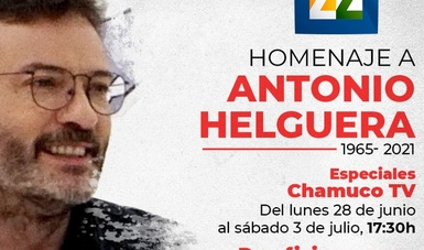 Canal 22 rinde homenaje al caricaturista Antonio Helguera