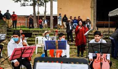 Semilleros creativos de Michoacán realizan encuentro cultural en Nurio