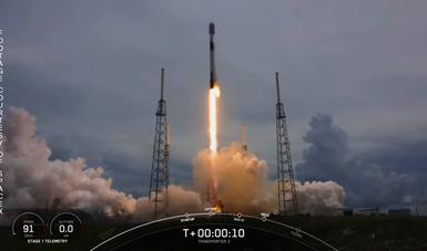 """Lanza exitosamente Space X Misión Satelital Internacional """"D2/ATLACOM-1"""""""