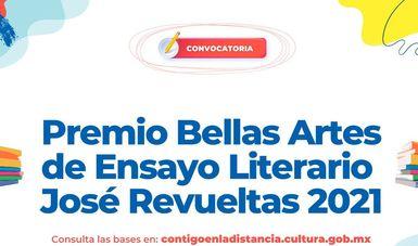 Convocan al Premio Bellas Artes de Ensayo Literario José Revueltas 2021