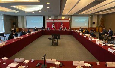 Autoridades del Gobierno de México llevan a cabo reunión de trabajo con delegación de la Administración de Control de Drogas de EE.UU.