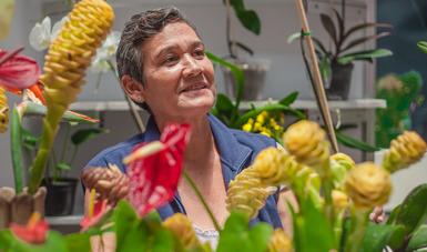 Promueve Agricultura mejoramiento de 10 grupos de familias de plantas ornamentales