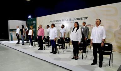 Seguirá atención a los pobres con respaldo del pueblo: Javier May