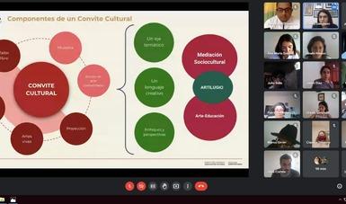 Cultura Comunitaria capacita a mediadores socioculturales para la realización de Convites culturales