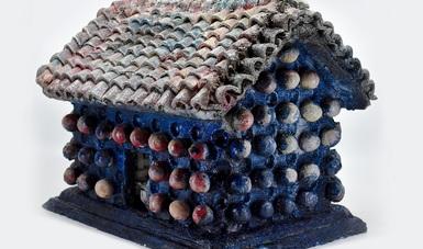 Abre al público la exposición La casa, el cielo y la serpiente, del artista juchiteco José Ángel Santiago