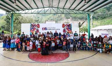 Cultura Comunitaria llega a Ayahualtempa, Guerrero