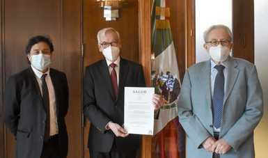 Carlos Javier Pineda Villaseñor, nuevo titular del Instituto Nacional de Rehabilitación