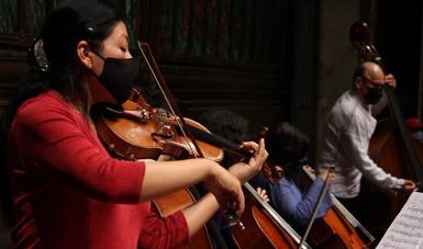 Reencuentro gradual y seguro de la Orquesta Sinfónica Nacional con sus públicos se realizará a través de grupos de cámara