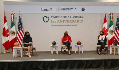 Primer Aniversario del Tratado entre México, Estados Unidos y Canadá (T-MEC)