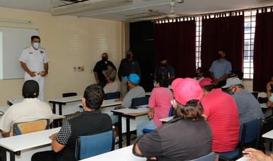 Se realizan en Mazatlán talleres sobre construcción y uso eficiente de Dispositivos Excluidores de Tortugas marinas