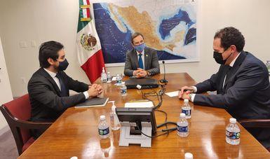 Concluye visita a Washington D.C. de funcionarios de la Secretaría de Relaciones Exteriores