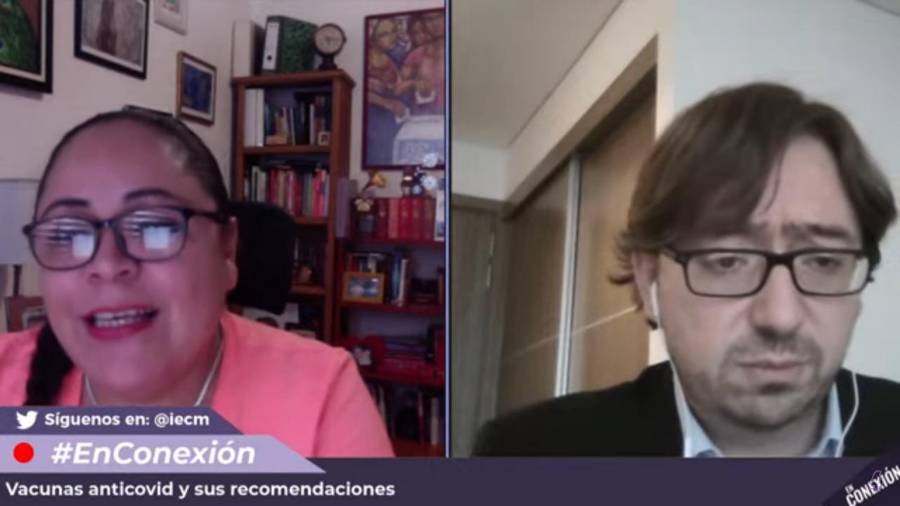 """""""Vacunas anticovid y sus recomendaciones"""", tema abordado en el conversatorio virtual: En Conexión"""