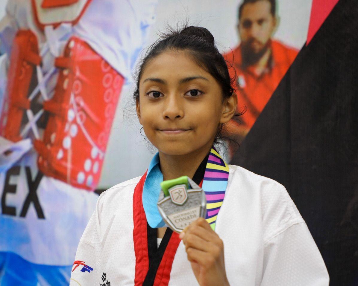 El taekwondo de la Ciudad de México obtuvo 7 medallas en los Nacionales CONADE 2021