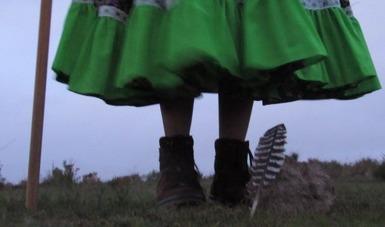 Estudiantes de la Escuela Nacional de Danza Folklórica del INBAL producen audiovisuales tras residencia Shortlux-Escena resiliente