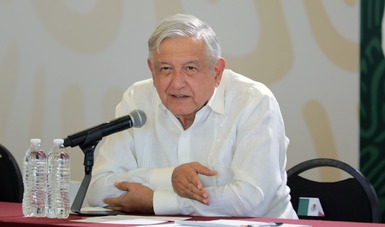 Reforma constitucional en materia eléctrica considera prioritaria la seguridad ciudadana: presidente AMLO