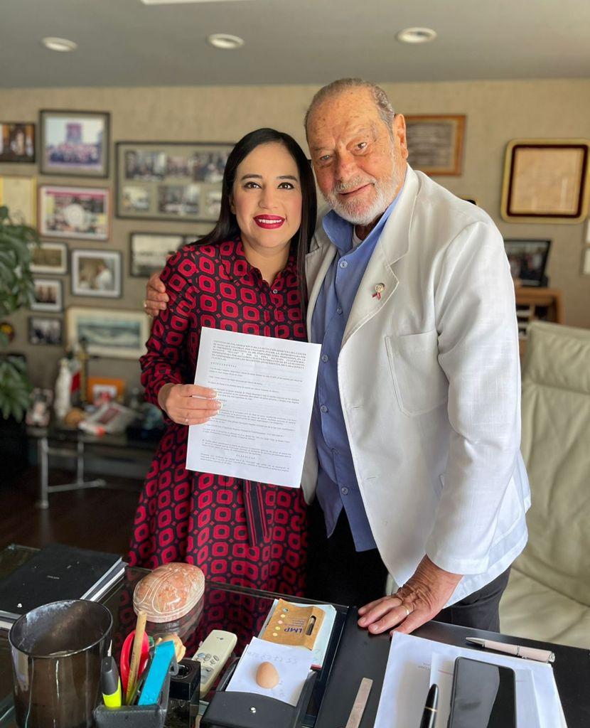 Sandra Cuevas inicia junto con FUCAM, campaña de atención y prevención contra el cáncer de mama en la Cuauhtémoc