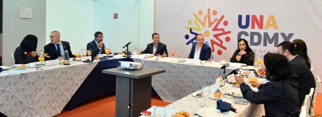 La UNACDMX da la bienvenida a Martí Batres y lo convoca a un diálogo verdadero