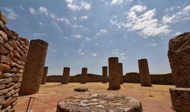 Cierre de la Zona Arqueológica de La Quemada, Zacatecas