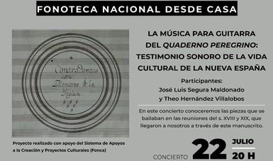 Se ofrecerá concierto de música cotidiana de la Nueva España desde la Fonoteca Nacional