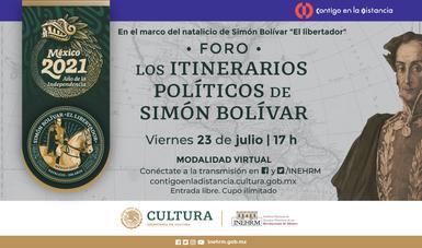 El INEHRM conmemorará el natalicio de Simón Bolívar