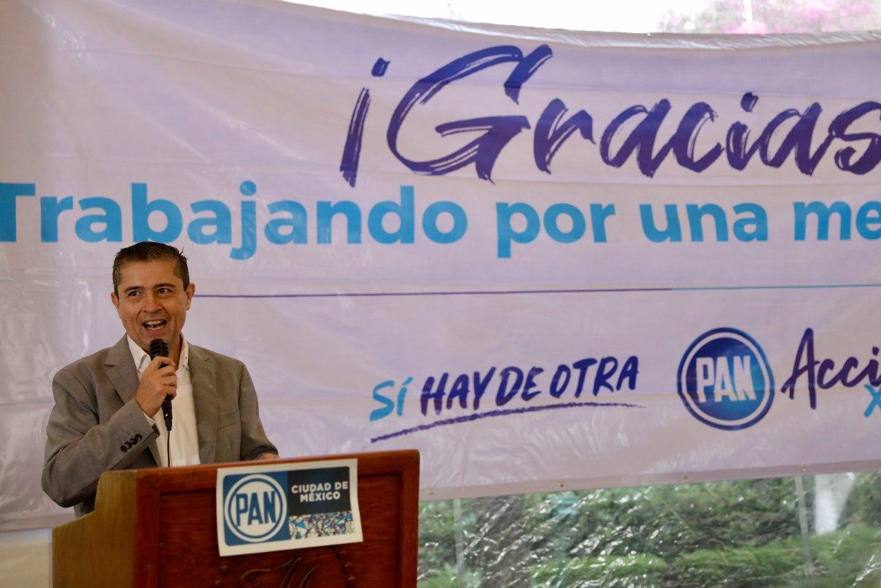 En Coyoacán seremos facilitadores de inversiones: Giovani Gutiérrez