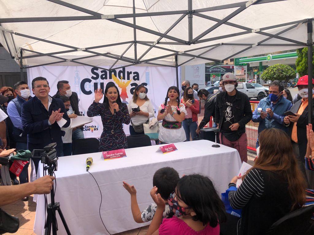 Inicia en Cuauhtémoc, campaña de prevención de cáncer de mama: Sandra Cuevas