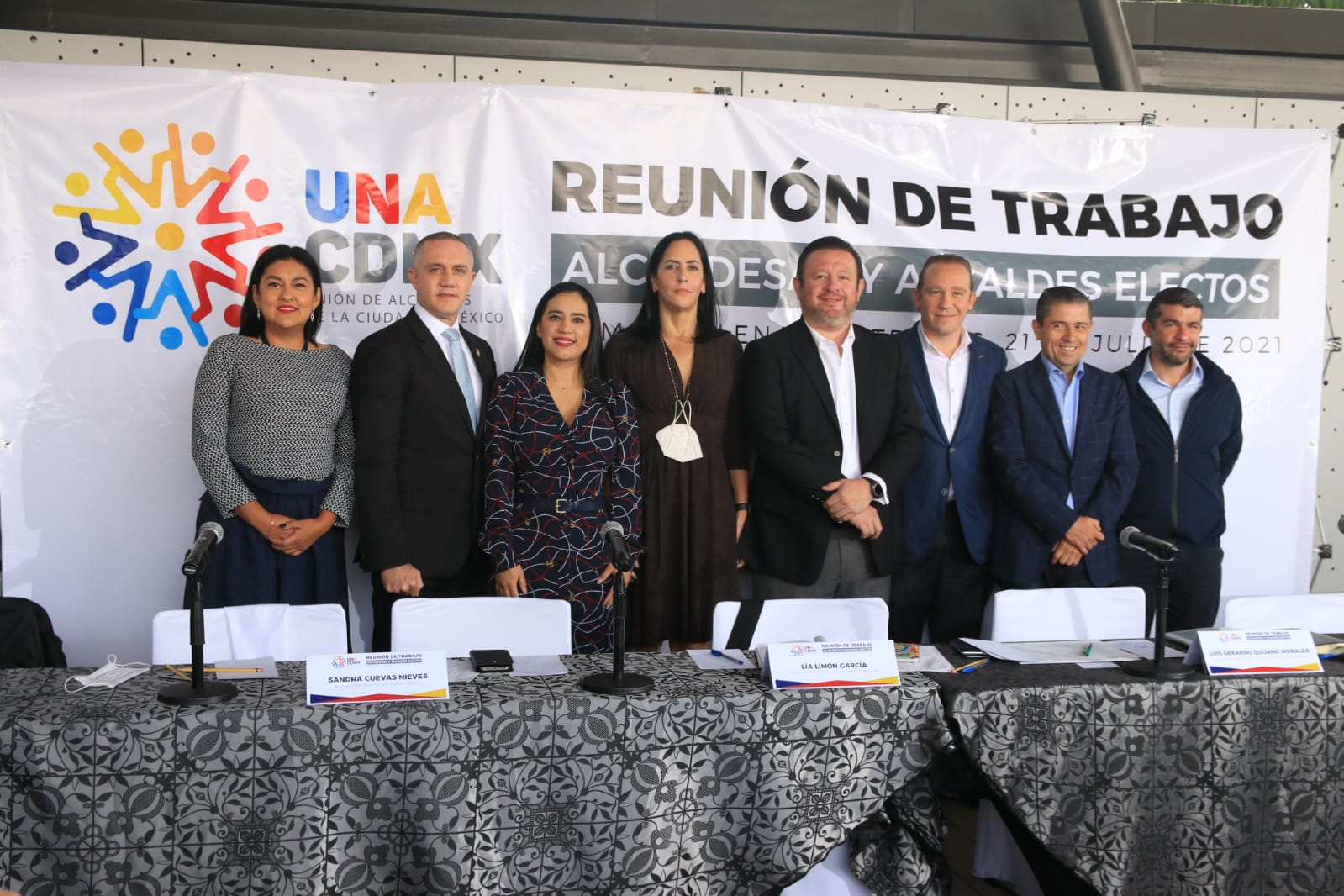 Solicitan alcaldes de UNACDMX participar en presupuesto participativo 2021
