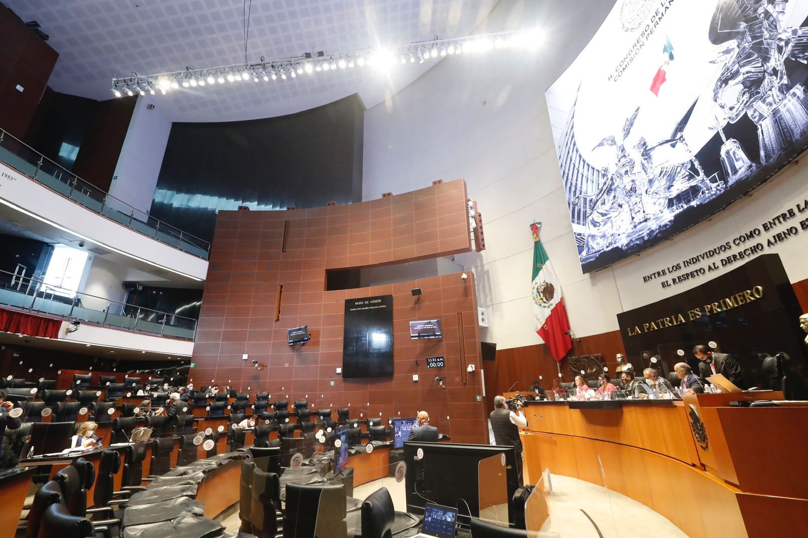 Diputadas y diputados presentan cuatro iniciativas en la Comisión Permanente
