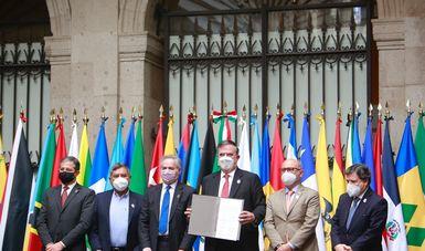 Se presenta en México el proyecto de Convenio Constitutivo de la Agencia Latinoamericana y Caribeña del Espacio
