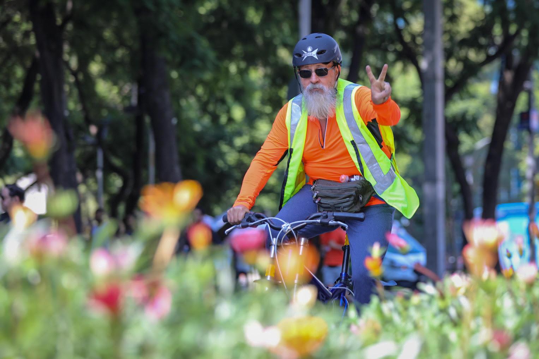 Con más de 50 mil participantes se realiza el Ciclotón de la Ciudad de México de julio
