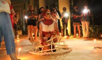 Actores y público interactuarán en Amor. Laberinto para cuerpos y pantallas en el Centro Cultural del Bosque