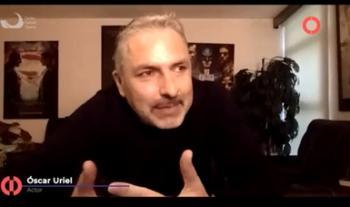 El conductor de televisión Óscar Uriel habló en el Cecut sobre su programa de entrevistas en Canal Once