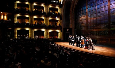 Concertistas de Bellas Artes ofrecerán la Primera Gala 2021 en el Palacio de Bellas Artes