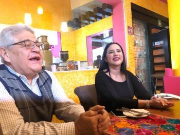 Plan estratégico para reactivar Zona Rosa y convertirla en la Quinta Avenida como la existente en Nueva York, ofrece Sandra Cuevas a empresarios