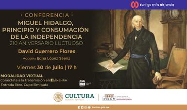 El INEHRM recuerda a Miguel Hidalgo en su 210 aniversario luctuoso