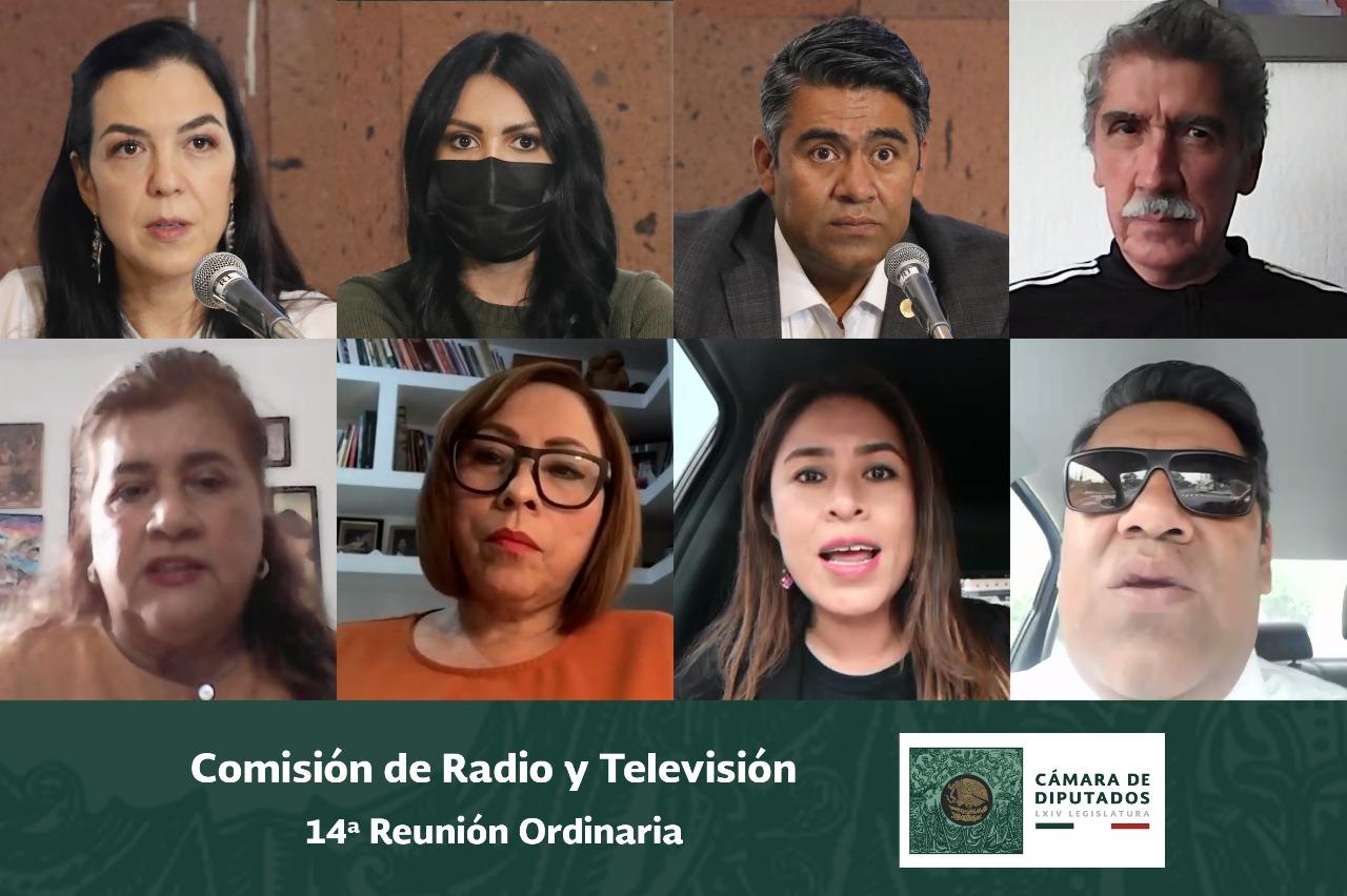 La Comisión de Radio y Televisión concluye trabajos legislativos