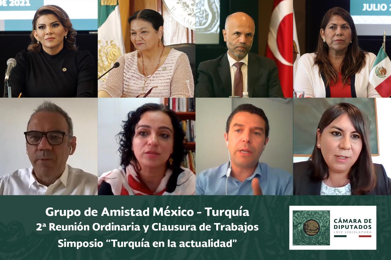Concluye actividades el Grupo de Amistad México-Turquía